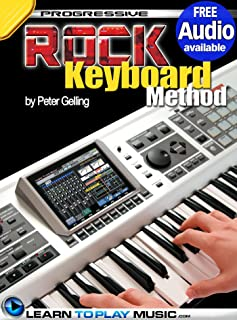 Rock Keyboard Lessons: Teach Yourself How to Play Keyboard (Free Audio Available) (Progressive)