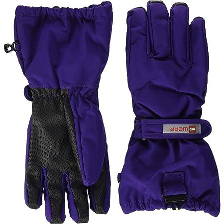 LEGO Wear LWATLIN Tec Fingerhandschuhe Play Guantes para clima frío, 691 Dark Purple, 104 Unisex niños