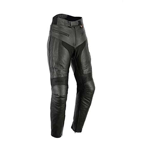 ad48a0dec7ed4e Texpeed Mens RS Sports Leather Motorcycle Trousers With Removable Armour -  All Sizes