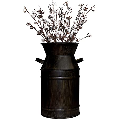 Vintage Small Tin Bucket 1940/'s Garden Decor Wedding Decor Flower Girl Bucket