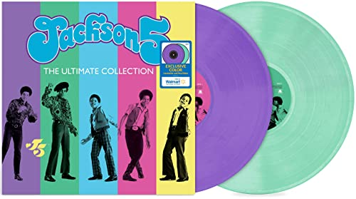 wholesale The Jackson 5 high quality - The Ultimate Collection (Exclusive Lavender sale and Sea Glass Colored Vinyl) sale