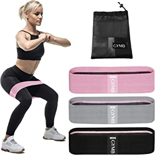 Booty 3 Resistance Bands for Legs and Butt, Exercise Fitness Bands with Video Workout for Women