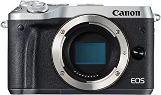 Canon EOS M6 body only Compact System Camera(M6BS) 3 Inch Display,Silver (Australian warranty)