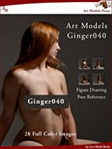 Art Models Ginger040: Figure Drawing Pose Reference (Art Models Poses) (English Edition)