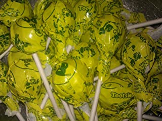 Lemon Tootsie Pops 30 Count