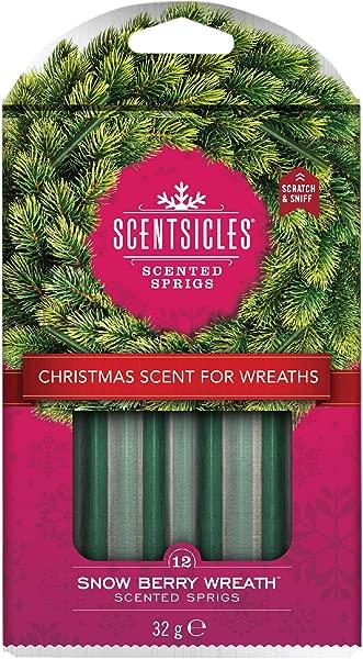 Scentsicles Snow Berry Wreath Sprigs Sticks