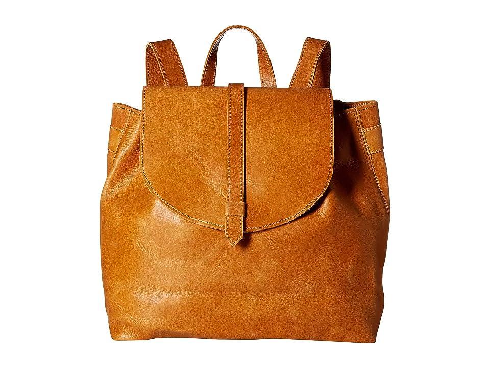 ABLE Tirhas Backpack (Cognac) Backpack Bags