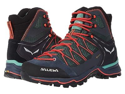 SALEWA Mountain Trainer Lite Mid GTX (Field Green/Fluo Coral) Women
