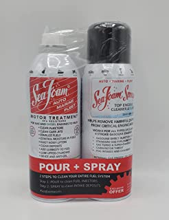 Seafoam Motor Treatment and Top Engine Cleaner Combo Package