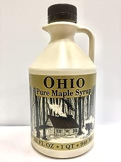 1 Quart Grade A, Pure Ohio Maple Syrup