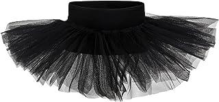 tanzmuster Tutu Mädchen Ballettrock - Pia - Tuturock aus Tüll zum Reinschlüpfen