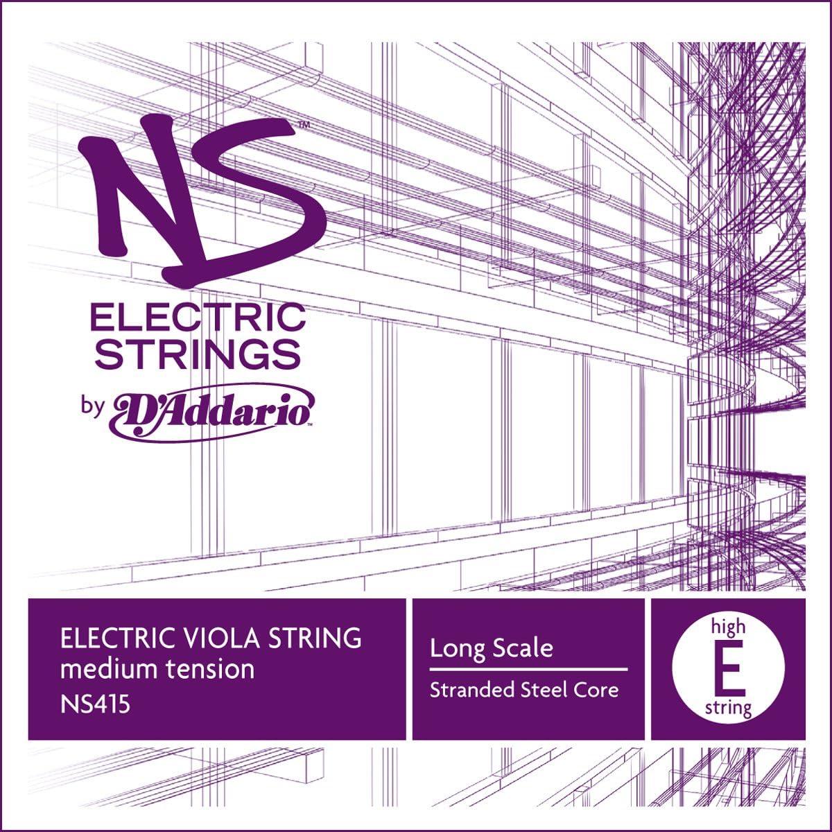 Extra-Extra-Short Scale DAddario Ascent/é Viola D String Medium Tension