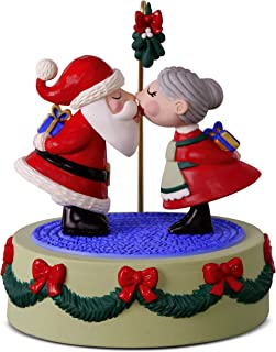 Best Hallmark Keepsake Christmas Ornament 2018 Year Dated, Kissing Clauses With Music and Motion Review