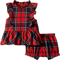 Sleeveless Ruffle Peplum Set (Infant)