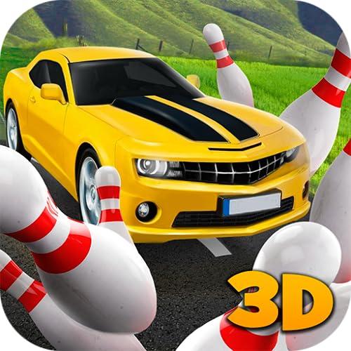Car Bowling Racing 3D: Smashing Strike | Bowling Rush Car Accident Sim |Car Driver Skittle Ball Bowling Simulator