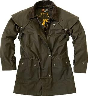 Kakadu Australia Cowboy Saddle Slicker Rain Jacket Duster –Workhorse Half Length Unisex