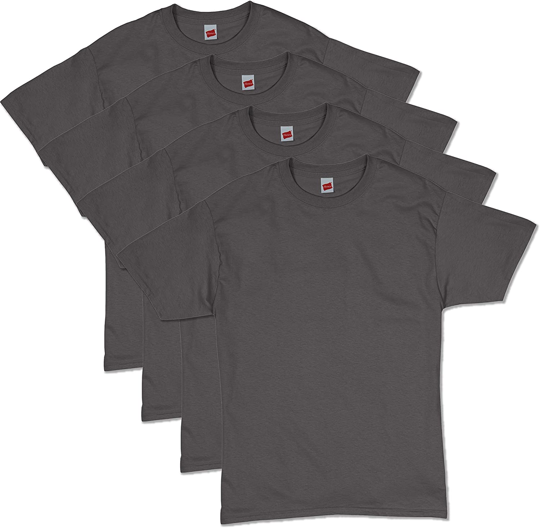 Hanes Men's Essentials Short Sleeve T-shirt Value Pack (4-pack)