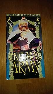 One Man Army [VHS]