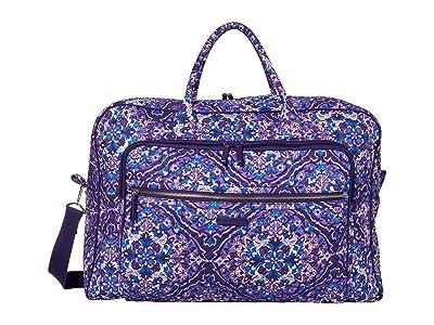 Vera Bradley Iconic Grand Weekender Travel Bag (Regal Rosette) Weekender/Overnight Luggage