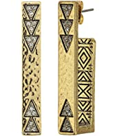 House of Harlow 1960 - Scutum Bar Earrings