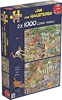 Jumbo 19001 Puzzel Jvh: Safari & Storm 2X1000 Stukjes