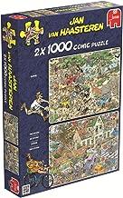 Jumbo Safari & The Storm Jigsaw Puzzle (2x1000 Piece)