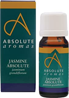 Absolute Aromas Jasmine Absolute Essential Oil (2ml) - 100% Pure, Natural, Undiluted and Cruelty-Free - For use in Diffusers and Aromatherapy Blends - Jasminum Grandiflorum
