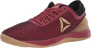 Reebok Women's Crossfit Nano 8.0 Flexweave Cross Trainer, Meteor Red/Black/Brass, 10 M US