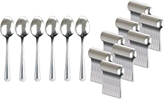 Handi-Ware Stainless Steel Cutlery - Multi-Pack Bulk - Tumble Finish - Commercial Use (240, Dinner Spoon)
