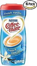 Nestle Coffee-mate Coffee Creamer, French Vanilla, 15oz powder creamer - Pack of 6