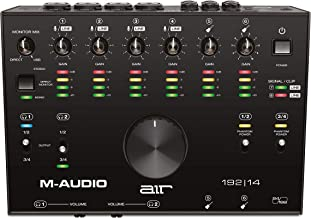 M-Audio AIR 192|14 - 8-In 4-Out USB Audio / MIDI Interface with Recording Software from Pro-Tools & Ableton Live, Plus Stu...