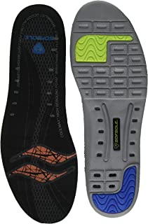 Sof Sole Men's Thin Fit Medium Arch Lightweight Low Volume Shoe Insole