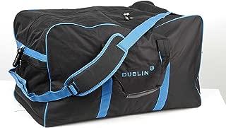 Dublin Imperial Hold All Bag, Black/Blue