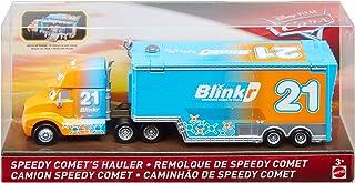 Cars Disney Pixar Blinkr 21 Speedy Comet's Hauler