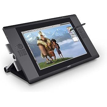 ワコム 液晶ペンタブレット 24.1インチ タッチ機能搭載 Cintiq24HD touch DTH-2400/K0