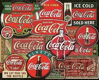 Springbok 1000 Piece Jigsaw Puzzle Coca-Cola Classic Signs