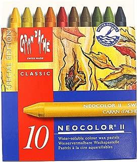 CREATIVE ART MATERIALS Neocolor II 10 Watersoluble Crayon Set-Autumn (7500.913)