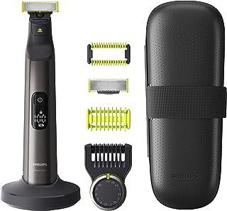 Philips OneBlade Pro Face + Body - Trimmer, scheerapparaat en styler - Precisiekam met 14 lengtestanden - Nat en droog geb...