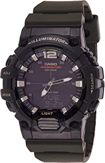 Casio Men's Black Dial Resin Digital Watch - HDC-700-3AVDF