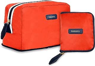 Paravel Fold-Up Wash Kit (Bebop Red)