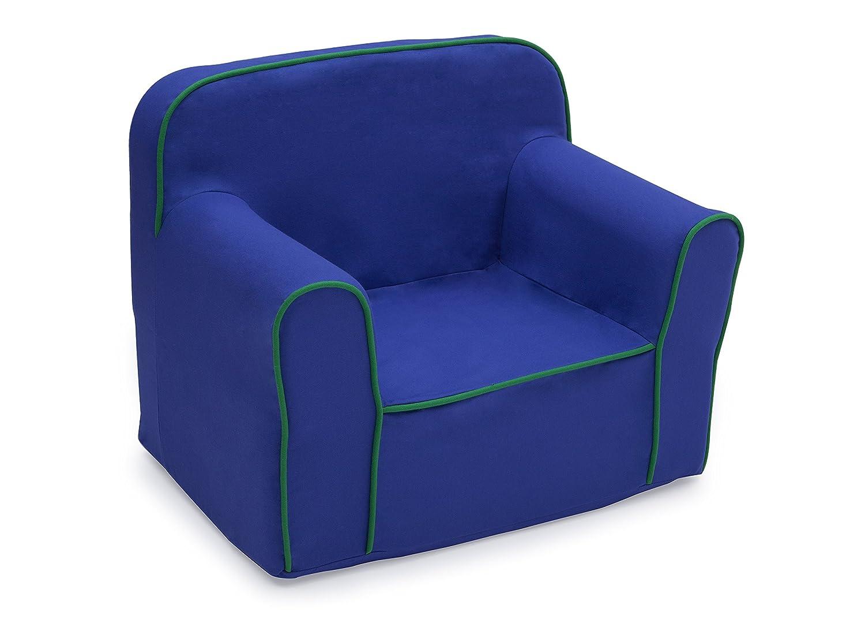 1 year warranty Delta Children Foam Snuggle Fashion with Green Blue Chair