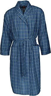 Men's Lightweight Woven Broadcloth Robe