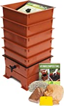 Worm Factory DS5TT 5-Tray Worm Composter, Terra Cotta