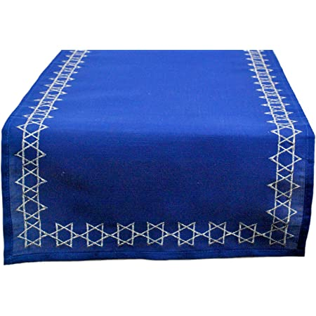 Amazon Com Dii Star Of David Tabletop Collection 14x70 Home Kitchen