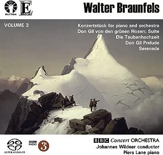 Walter Braunfels Vol. 3: Don Gil von den grünen Hosen Suite/Konzertstücke/Die Vogel/Serenade/Don Gil Prelude [SACD HYBRID] stereo only
