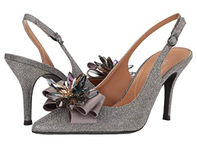 J. Renee Denyell (Pewter Glitter) High Heels