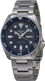 Seiko SRPD51K1 Reloj Seiko 5 Automatico Caballero Resistente al Agua 100 metros for Hombre, Gris, Hombre Estándar