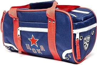 Atributika & Club HC CSKA Moscow KHL Travel Toiletry Hockey Bag Shaving Dopp Kit, Durable Polyester