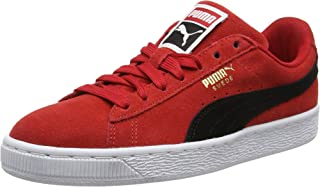 : puma suede Rouge Chaussures homme