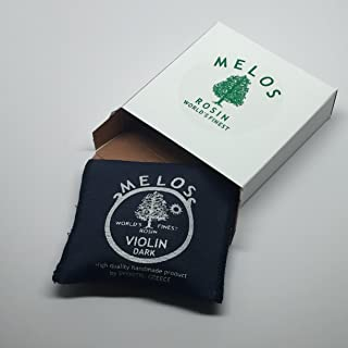 Melos Dark Violin Rosin Small Cake
